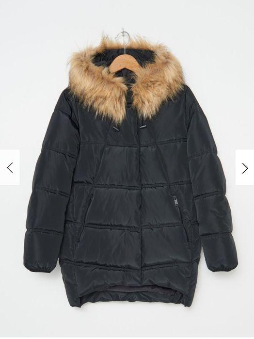 Pikowany płaszcz/kurtka z kapturem Krasnystaw - image 1