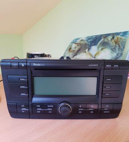 Oryginalne radio CD Skoda Octavia II