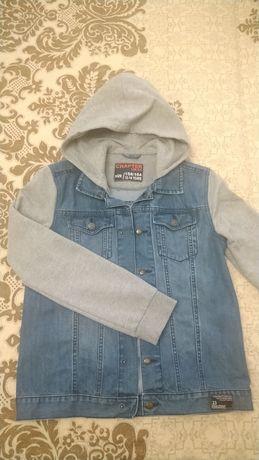 Джинсовый пиджак для мальчика Комбинированный