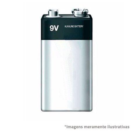 Pilha / Bateria Alcalina 9 V - NOVA - Poupe - Brinquedo