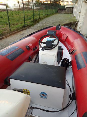 Barco semi rigido barco este Sr400