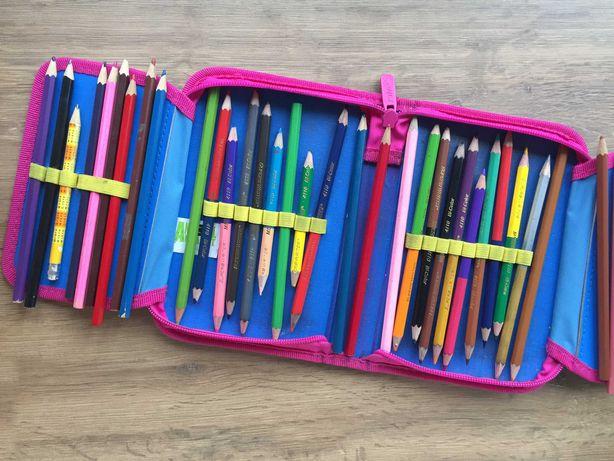 Школьный пенал Kite Animal Planet набор с карандашами б.у.