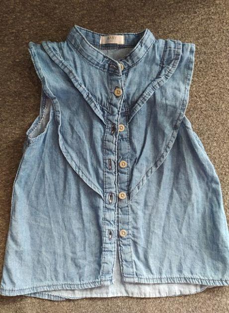 bluzka dżinsowa r. 80