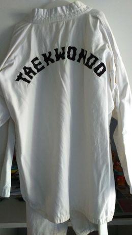 Fato taekwondo criança