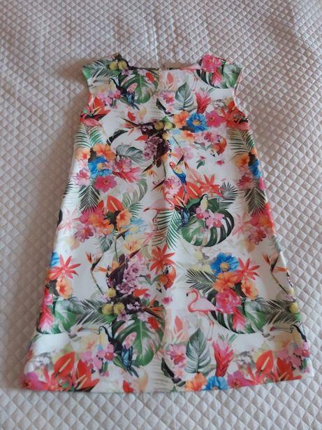 Trapezowa sukienka Mohito