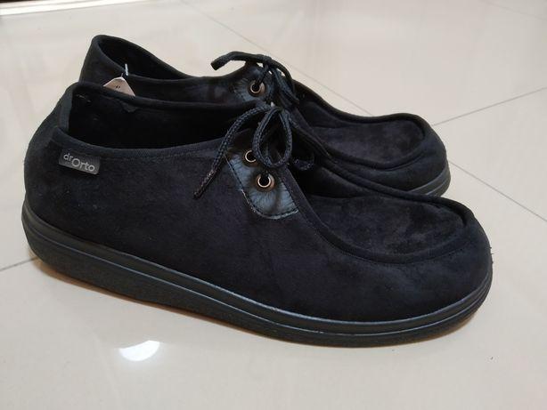 45 р. Dr.Orto Новые мужские ортопедические диабетические туфли ботинки