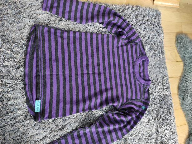 Bluzka koszulka wełna Pierre Robert 134/140 wada