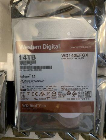 HHD Western Digital red plus  12 14 tb /жорсткий диск / chia