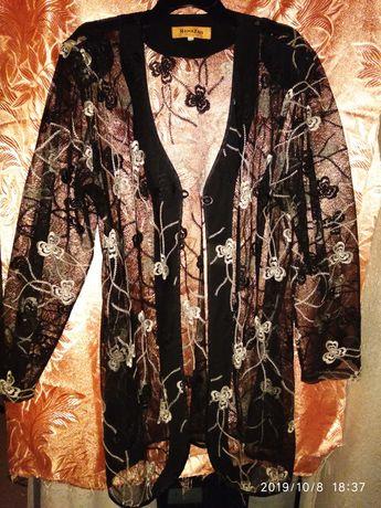 Кардиган накидка пиджак кофта