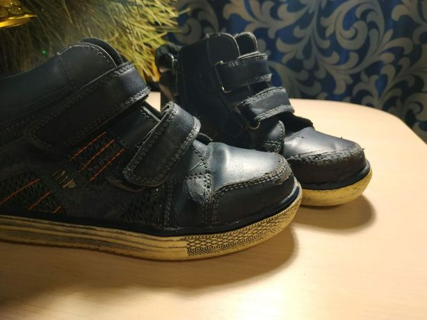 Демисезонные кроссовки на флисе размер 30 (19.5см)