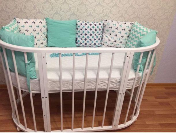 Кроватка детская круглая