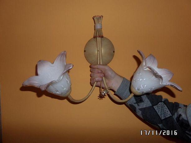 Kinkiet pojedynczy i podwójny - lampa ścienna