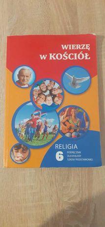 WIERZĘ W KOŚCIÓŁ 6 - podręcznik do 6 klasy z religii