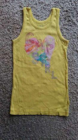 GAP koszulka 10 11 lat bluzka lato na ramiaczkach letnia 146
