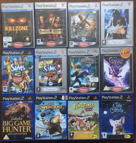 Jogos PS2 (pf, Veja a lista de jogos disponíneis)