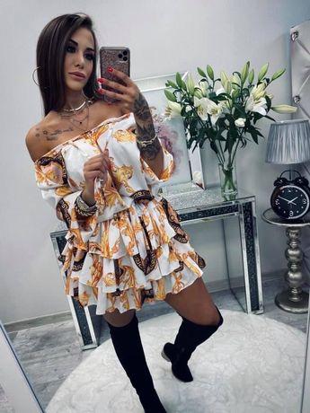 Sukienki hiszpanki Lola Bianka rozm uni