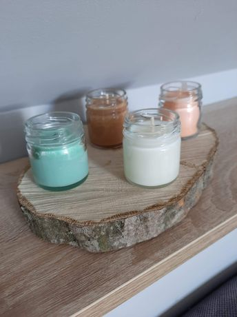 Świeczki sojowe zapachowe