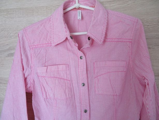 VICEVERSA koszula bluzka koszulowa damska, BDB, 36 (S)