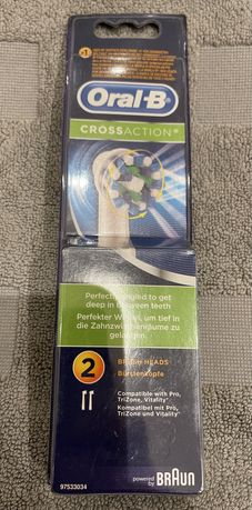 Pack 2x Recargas Oral-B Cross Action