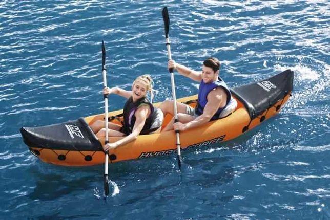 Kayak Insuflável c/ 2 Remos 321x88x44cm *Artigo Novo*