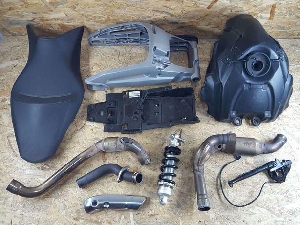 Shiver 750 dorseduro 07-11 Wal oslona nozka pompa tlok cylinder tuleja