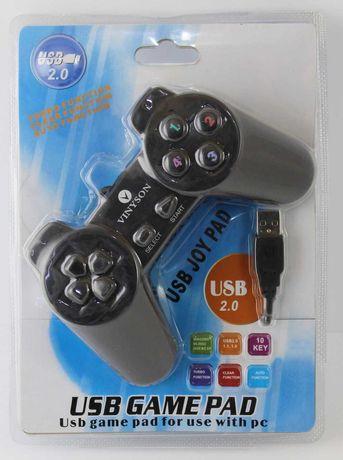 Джойстики VINYSON USB-701 для компьютера ( 2 штуки)