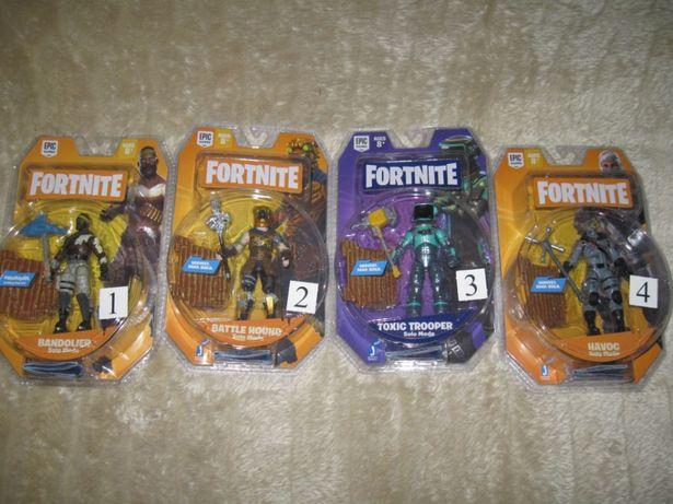 Duże 10cm Figurki z bronią Fortnite - Nowe