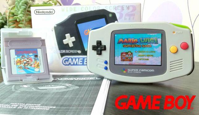 Nintendo Game Boy Advance AGB-101 яркий экран gameboy геймбой