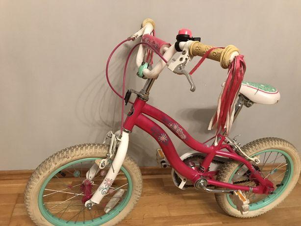 Rower dla dziewczynki 16 cali Schwinn