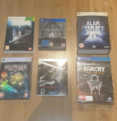 Ps4 ps3 Xbox 360 dark souls farcry bioshock devil may cry