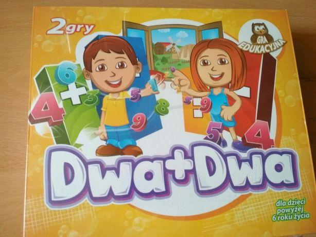 Gra edukacyjna dwa+dwa NOWA 6+