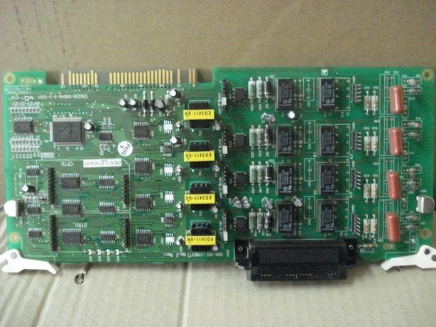 GDK-100 LCOB4 Плата 4-х городских линий атс ipLDK-100/300/600 LG-Norte