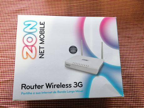 Router novo wireless novo