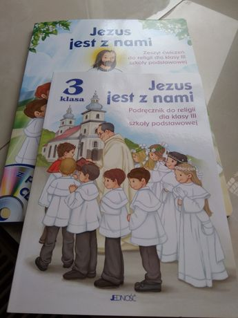 Religia książka+ćwiczenia nowe