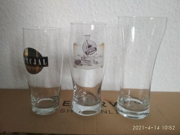 Szklanki do piwa kufle pokale szklane