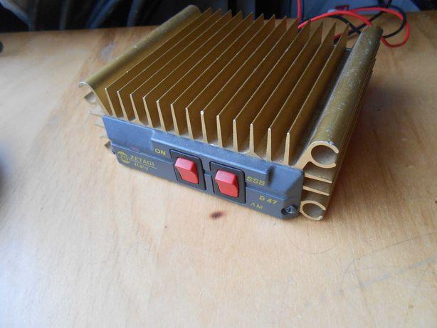 Amplificador para rádio cb e amador 27mhz 100w ssb 50w am/fm