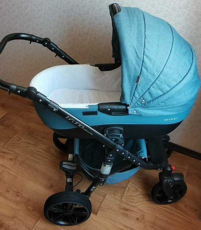 Детская коляска 2 в 1 Riko Brano Natural adriatic