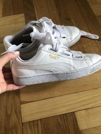 Кеды puma белые кроссовки