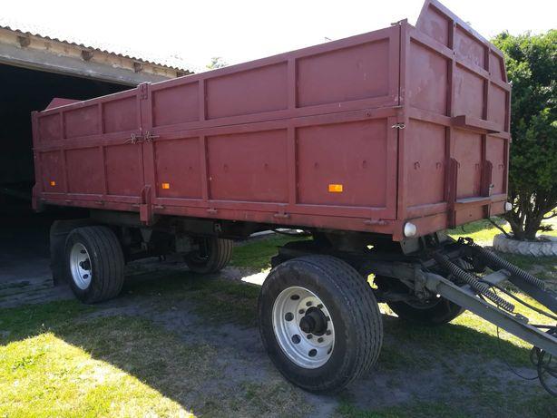 Przyczepa rolnicza wywrotka ciężarowa 12 ton hl8011
