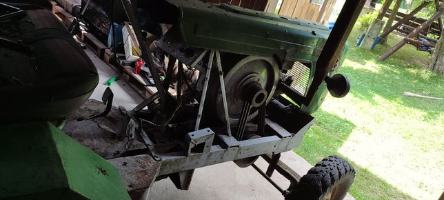 Es15 traktor  Andoria 15 traktorek