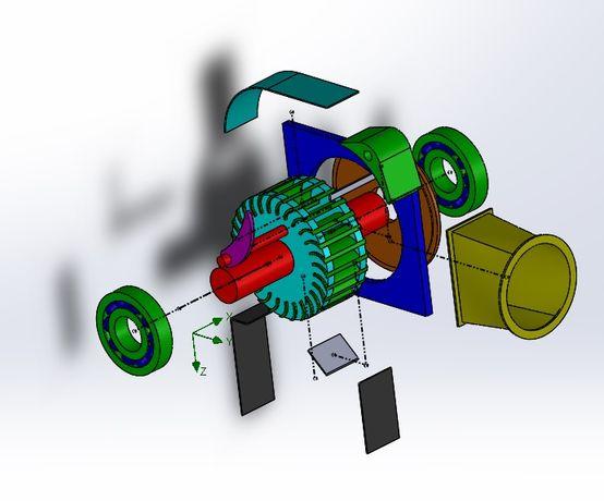 Projekty PKM Solidworks, Autocad