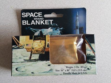 NASA Koc kosmiczny made in USA oryginał koc ratunkowy