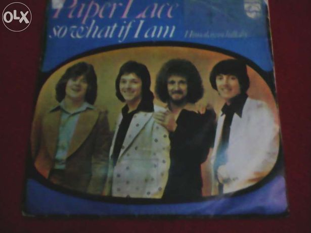 Paper Lace - So what if I am - Himalayan lullaby, vinil single