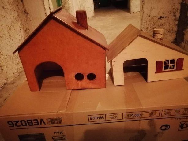 Domki dla królika i świnki morskiej