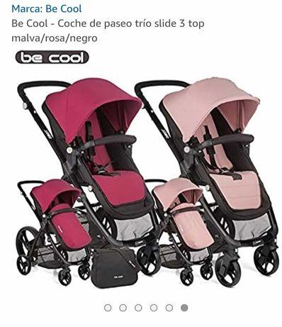 Carrinho de bebé Be Cool Slide trio