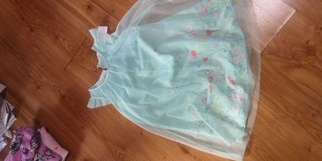 Elegancka sukienka hm134/140 nowa
