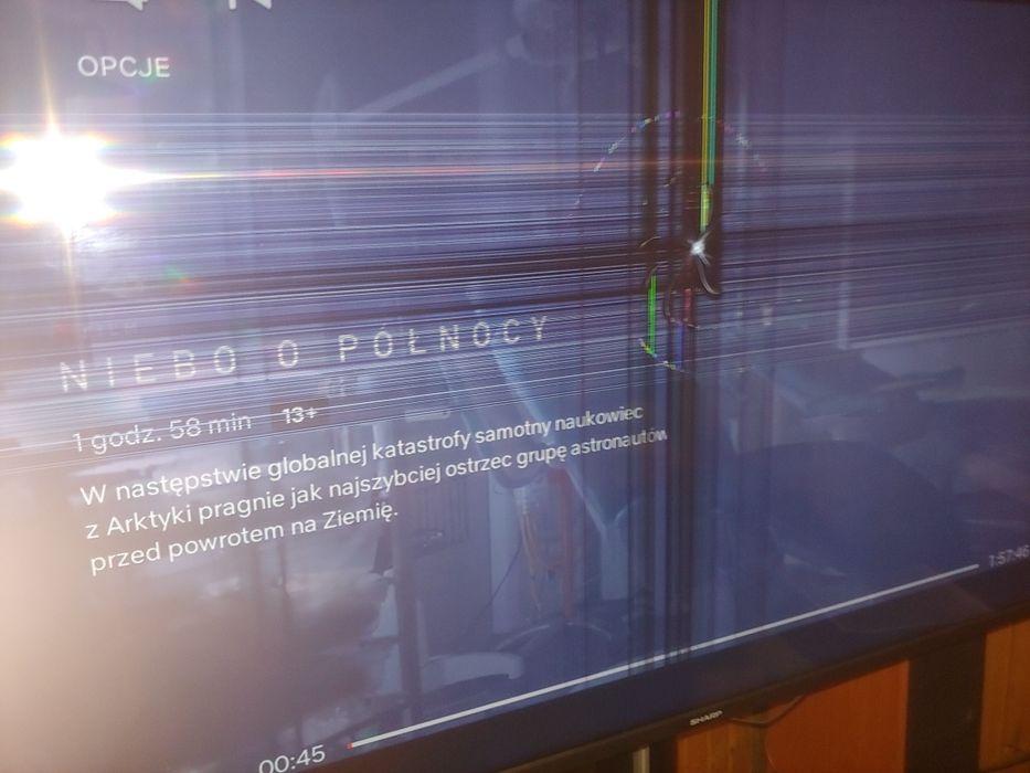 Sharp 65 cali telewizor Warszawa - image 1