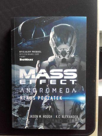 Książka Mass Effect Andromeda Nexus Początek Jason M. Hough
