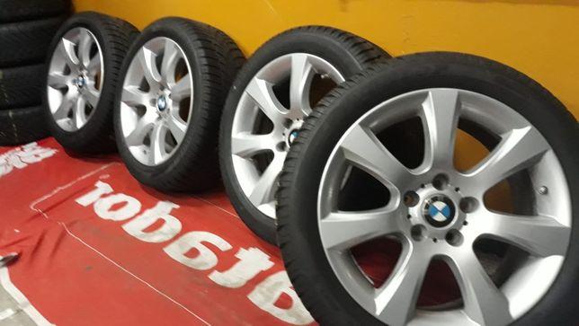 Koła aluminiowe BMW F10/11/18 18'' 5x120 opony zimowe 245/45/18