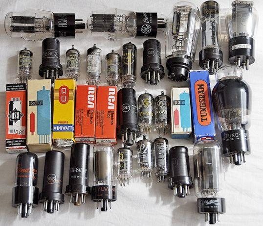 Продам импортные радиолампы ECC-80/82/83/85/808, 6v6, EL-34, кенотроны